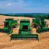 Комбайны John Deere: 9500, 9600, 9660 WTS, 9680 WTS, CWS 1470 (1450, 1570, 1550), 9570STS, 9670STS, 9770STS.
