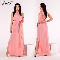 Платье с карманами 2 цвета от 42 до 56 р.