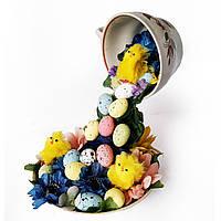 Парящая чашка с пасхальным декором Пасхальные подарки и украшения