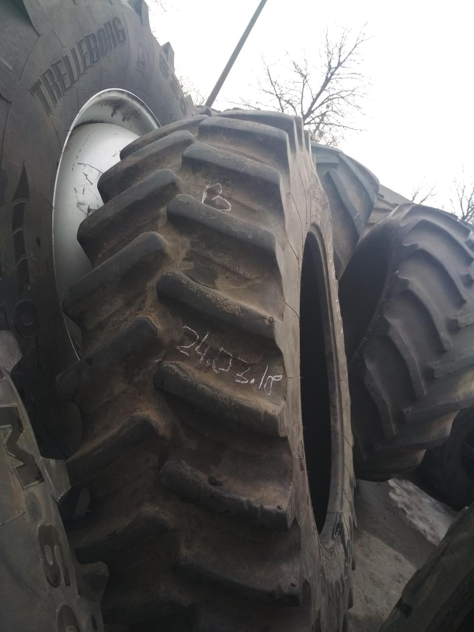 Шина б/у 520/85R42 (20.8R42) Firestone на трактора NEW HOLLAND, MASSEY FERGUSON
