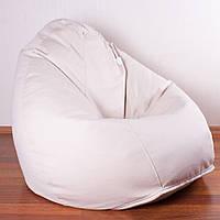 Кресло мешок Груша XXL | рогожка Queens Ivory