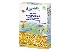 Каша детская кукурузная с пребиотиками на козьем молоке