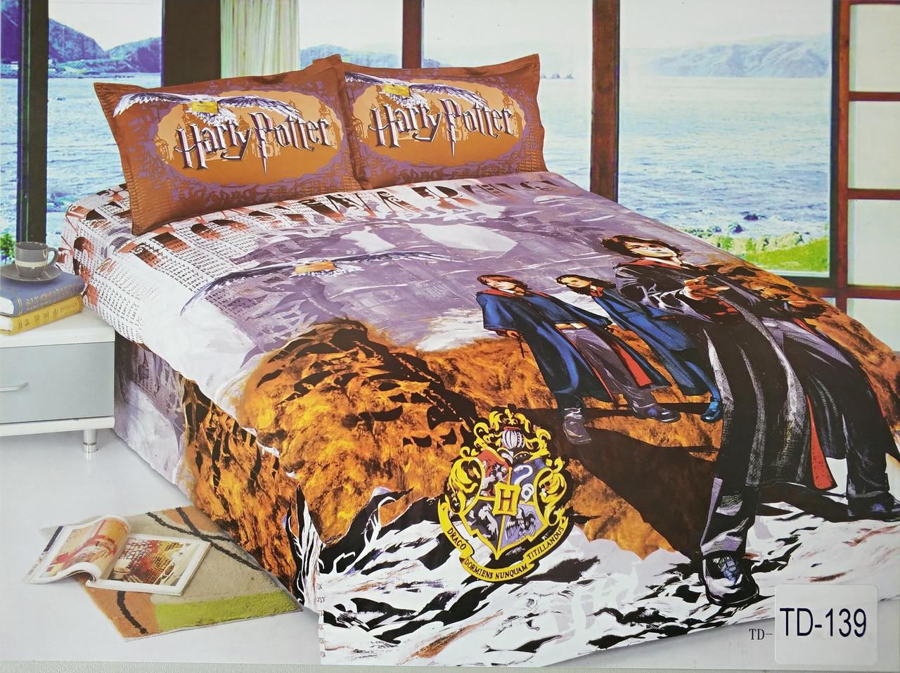 Детское сатиновое постельное белье Elway 3D TD-139