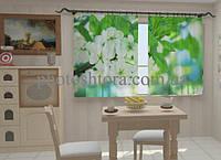 Фотоштора Весна цветы для кухни