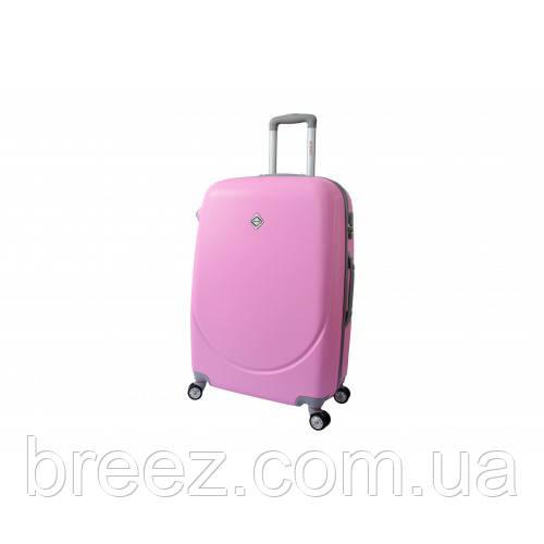 Чемодан Bonro Smile небольшой розовый