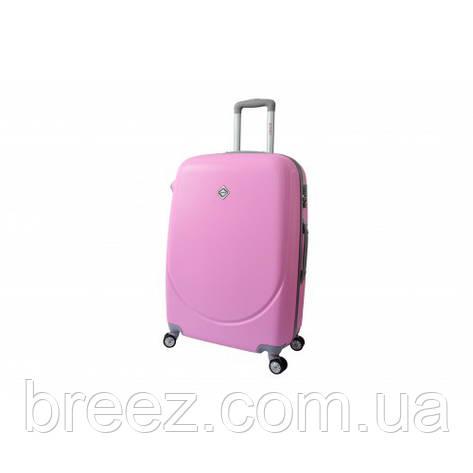 Чемодан Bonro Smile небольшой розовый, фото 2