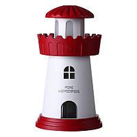 Увлажнитель воздуха SUNROZ Tower Портативный увлажнитель воздуха Башня, LED, USB, 150 мл, Красный (SUN0277)