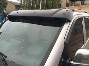 Козырёк лобового стекла Mercedes Vito W639 (на кронштейнах)