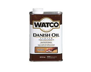 """Масло """"датское"""" WATCO DANISH OIL для мебели и древесины натуральное (Natural) 0,473л"""