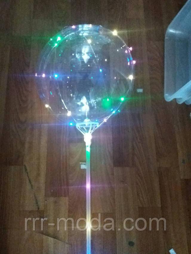 Воздушные светодиодные шары оптом. Мигающие надувные шарики в Украине.