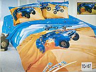 Детское сатиновое постельное белье Elway 3D TD-167