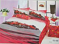 Детское сатиновое постельное белье Elway 3D TD-168