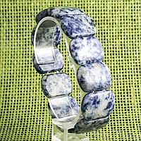 Содалит, браслет, 381БРС, фото 1