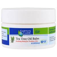 Earth's Care, Бальзам с маслом чайного дерева, 0,12 унции (3,4 г)
