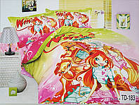 Детское сатиновое постельное белье Elway 3D TD-183
