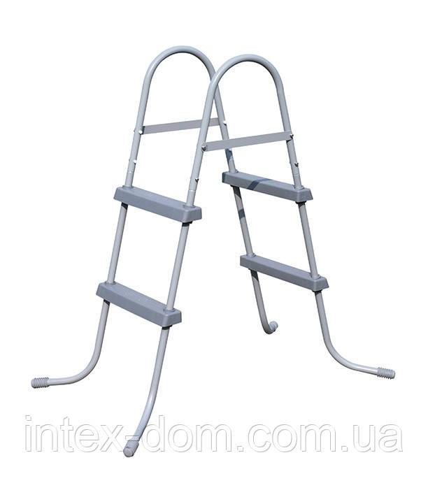 58430 BW Лестница для бассейнов до 84см, 2 ступеньки, без площадки