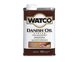 """Масло """"датское"""" WATCO DANISH OIL для мебели и древесины натуральное (Natural) 0,947л"""
