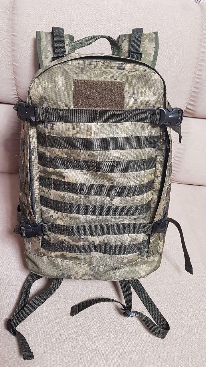 Сумка рюкзак армейский размер 47х35х20