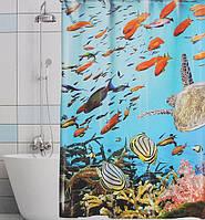"Шторка для ванной ""Хорс-фото"""