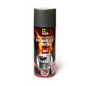 Термостойкая аэрозольная краска эмаль  Belife Hi-Heat Paint