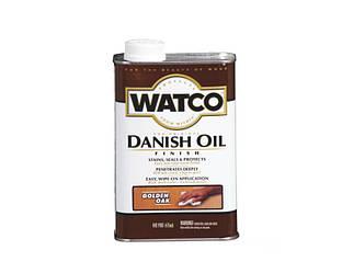 """Масло """"датское"""" WATCO DANISH OIL для мебели и древесины золотой дуб (Golden oak) 0,473л"""
