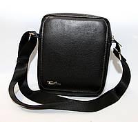 Кожаная сумка-планшетка среднего размера Tom Stone (10341)