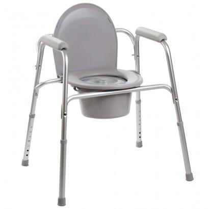 Алюминиевый стул-туалет 3 в 1 OSD-YU-2109A