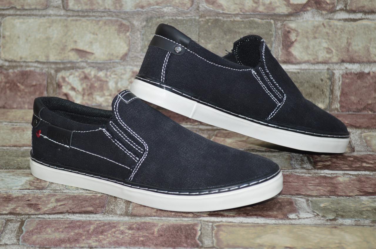 8a61d8254fb5 Легкие и практичные мужские мокасины (кеды) слипоны Horoso весна лето -  Shoes-style