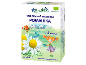 Детский травяной чай ромашка