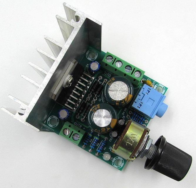 Аудио усилитель модулем 30W (тип B)