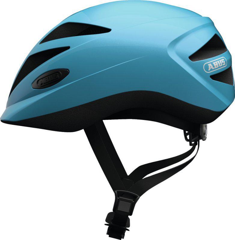 Велошлем детский ABUS HUBBLE 1.1 Shiny Blue (M)
