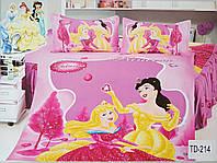 Детское сатиновое постельное белье Elway 3D TD-214