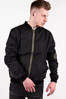 Куртка мужская весенняя, летняя, бомбер / черный