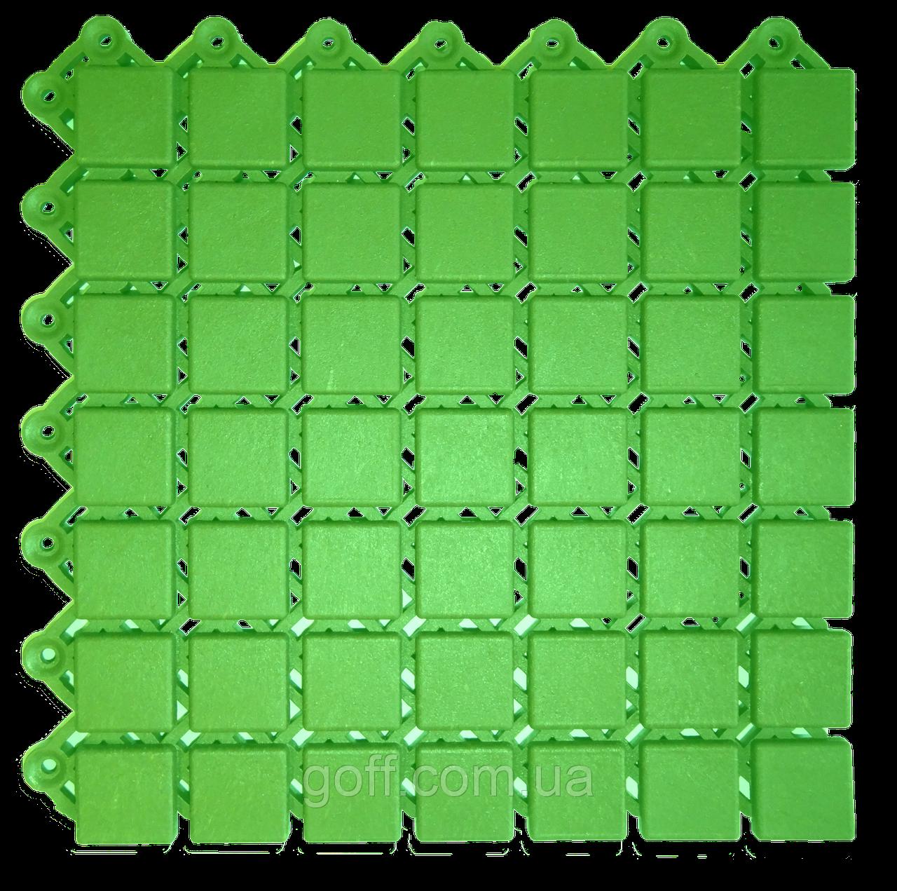 200х200х12мм Модульное покрытие для бассейнов и душевых Каре, фото 1