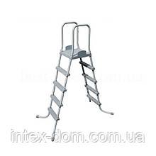 Лестница для бассейна Bestway 132см модель 58160/58337