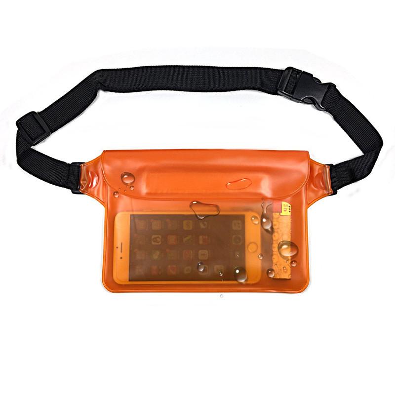 Универсальная водонепроницаемая сумка оранжевая