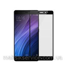 Защитное стекло Full Screen для Xiaomi Redmi 4A черное
