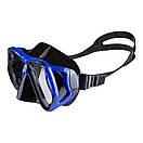 Маска для плавания в коробе Dolvor M6203S синяя, фото 2