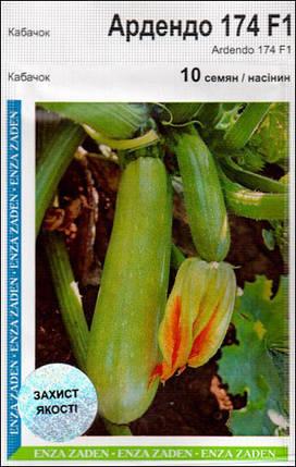 Семена кабачка Ардендо F1 (Enza Zaden), 10 семян — ранний гибрид (40-45 дней), светлый, фото 2