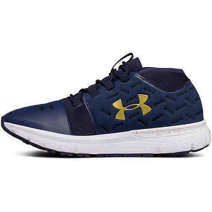 Кроссовки мужские Under Armour Charged Reactor Navy/White , фото 2
