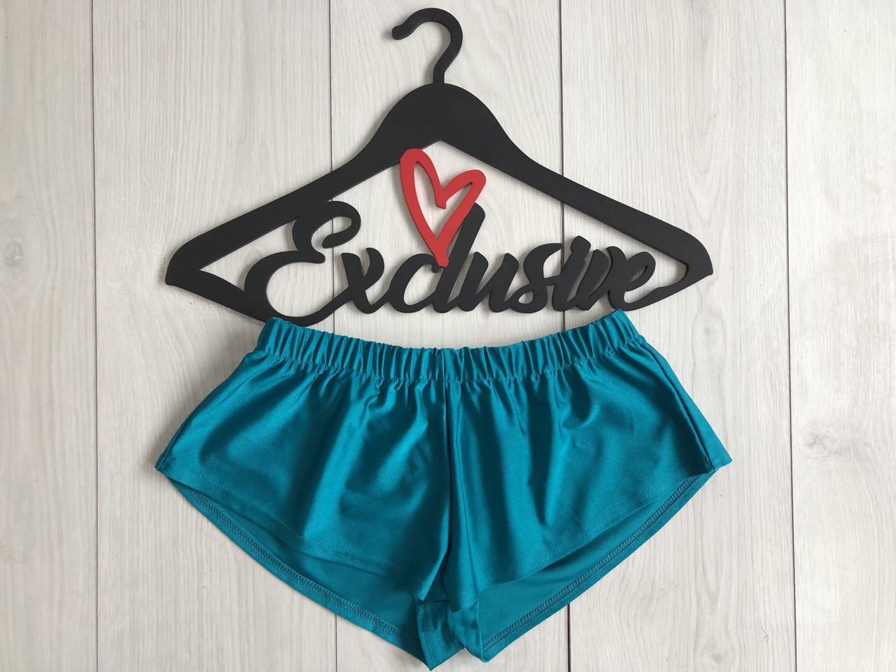 Пляжные короткие шорты-бифлекс, женская одежда.