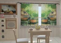 Фотошторы на кухню Чай