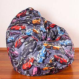 Кресло мешок Груша XXL   Микровелюр Print Ferrari
