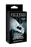 Вагинальные шарики Fetish Fantasy Black Glass Ben-Wa Balls Small