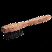 Большая щетка для нанесения крема Saphir Medaille D'or Spatula чёрная щетина