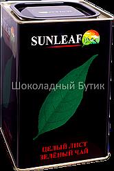 Чай SUNLEAF, зеленый чай, ж/б, 400г.