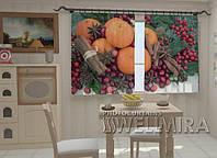 Фотошторы на кухню Апельсины и корица