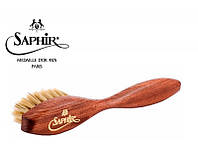 Большая щетка для нанесения крема Saphir Medaille D'or Spatula светлая щетина