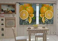 Фотошторы на кухню Апельсины