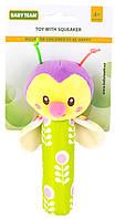 Игрушка Baby Team с пищалкой Пчелка (8500 Пчелка зеленая)